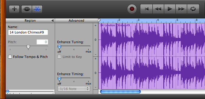 How to use itunes songs in garageband